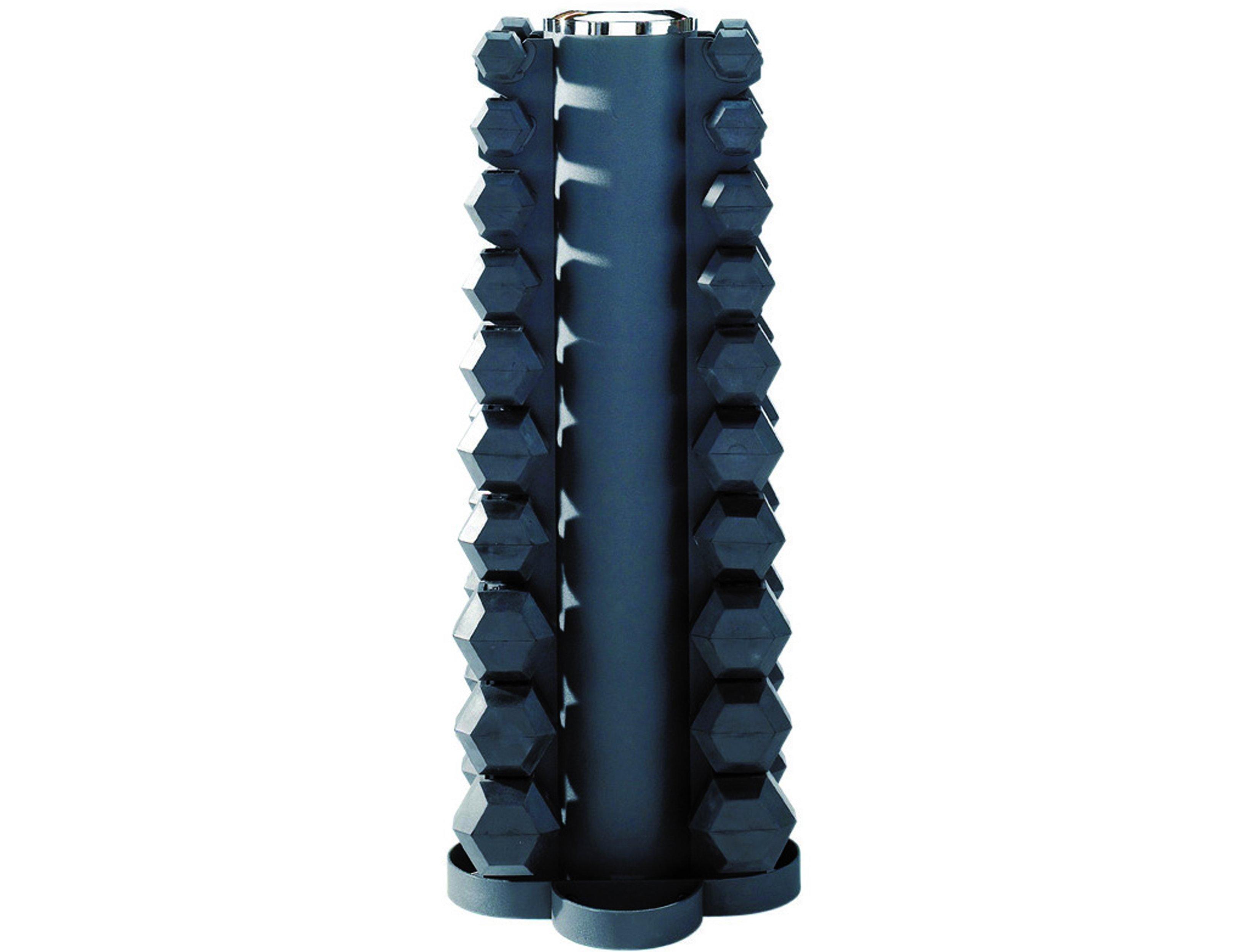 Gummihanteln Hexagonal 1Kg - 10Kg 115F