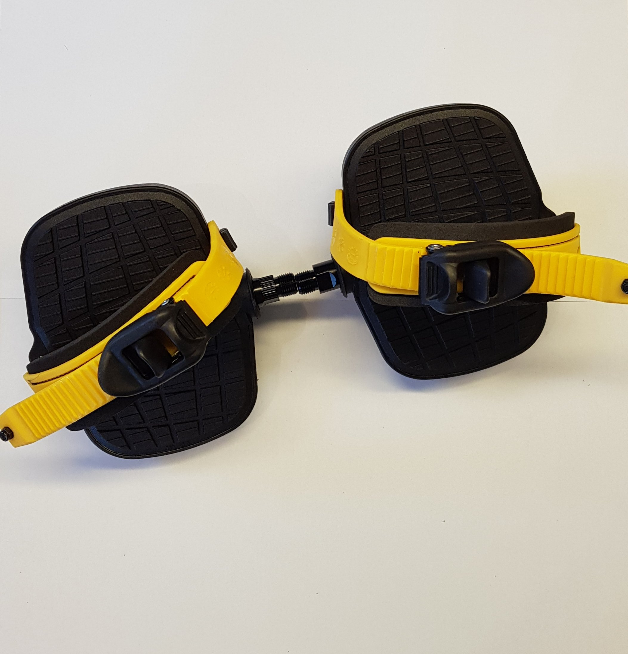 250G Liegefahrrad Pedal Paar (Gelb)