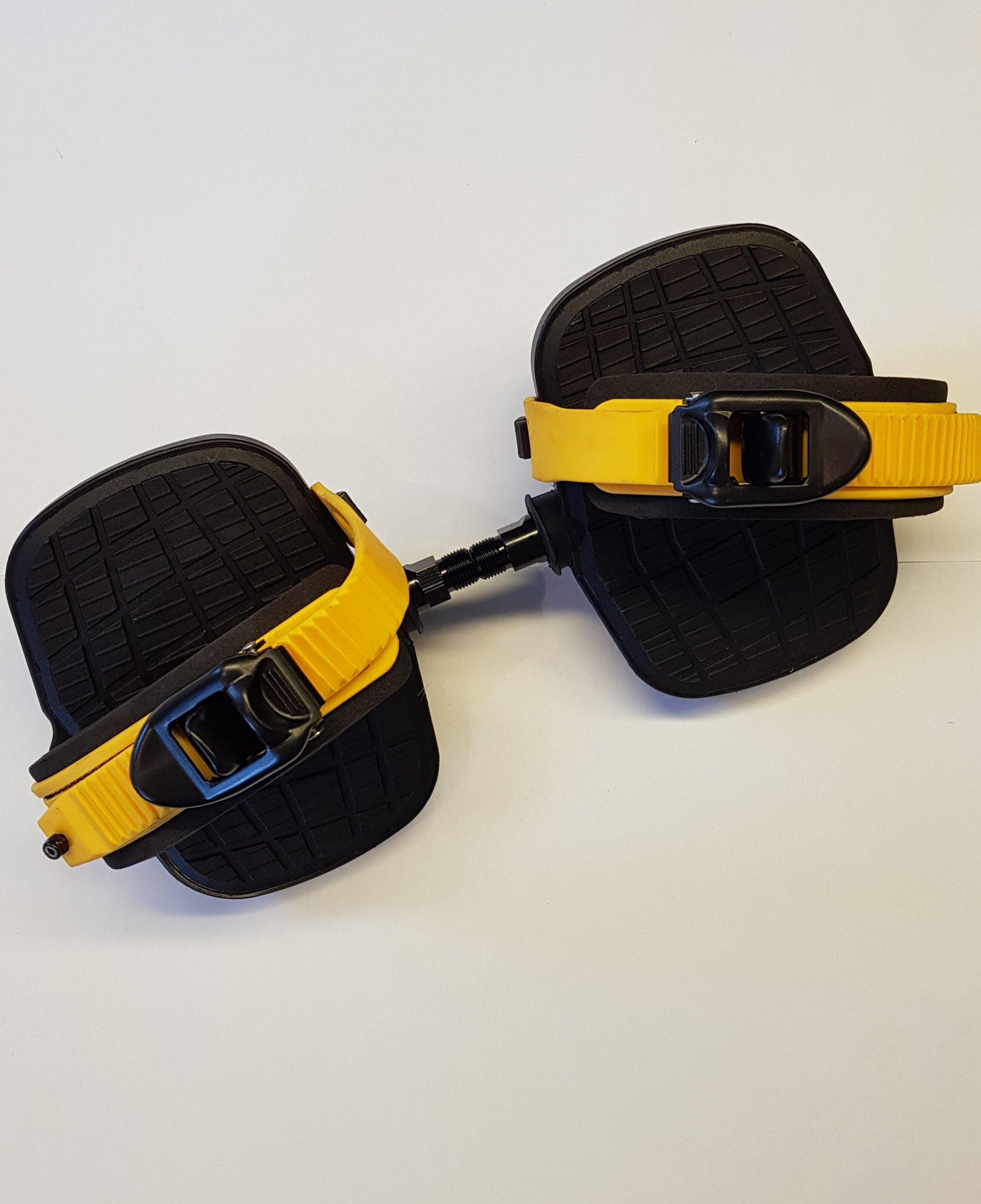240G Sitzfahrrad Pedal Paar (Gelb)