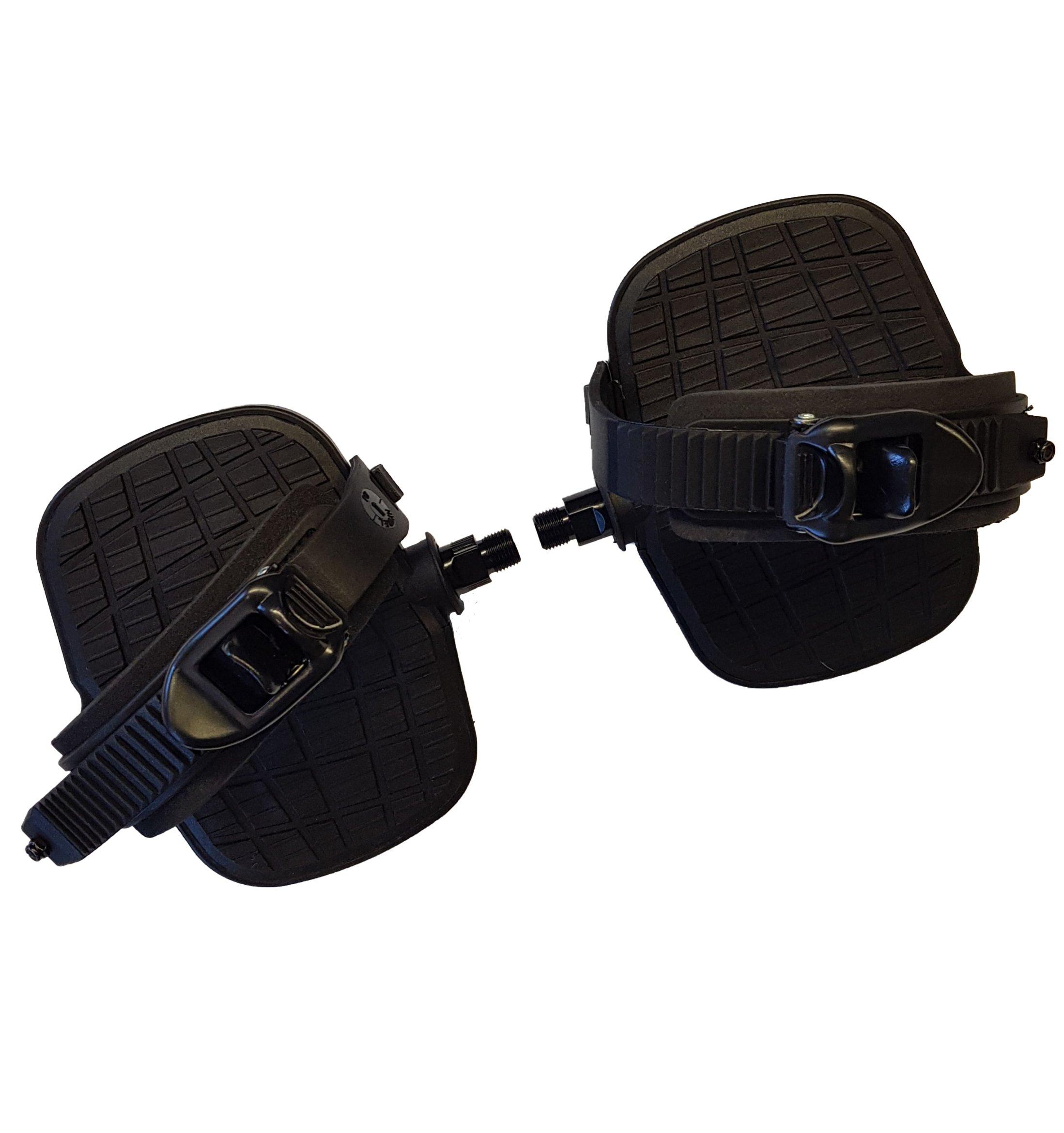 250G Liegefahrrad Pedal Paar (Grau)